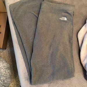 Grey Northface Fleece Pants